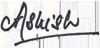 ashish signature